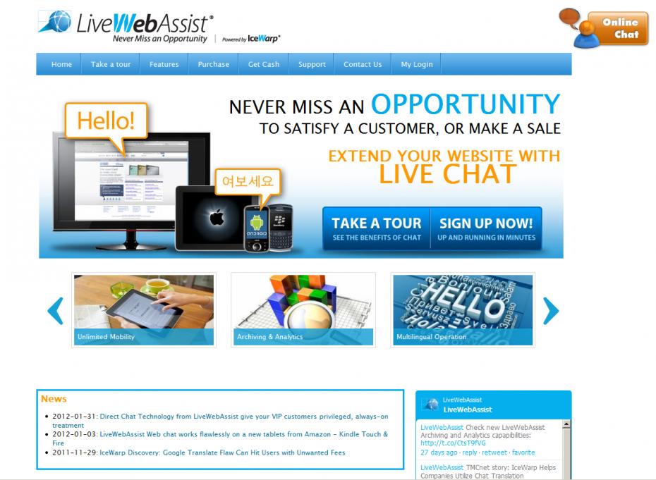 LiveWebAssist by IceWarp