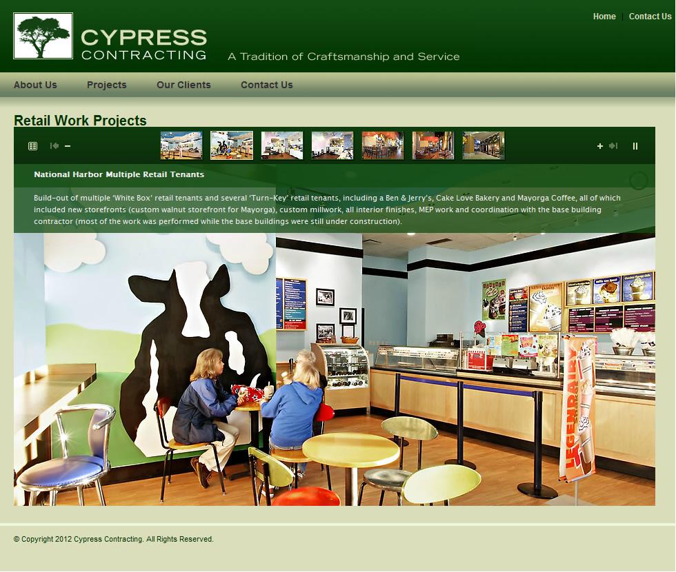 Cypress Contracting Slideshow