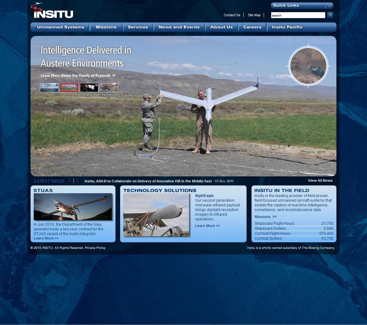 Insitu Homepage