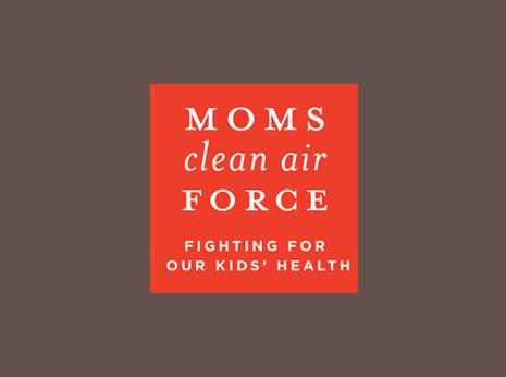 Moms Clean Air Force logo