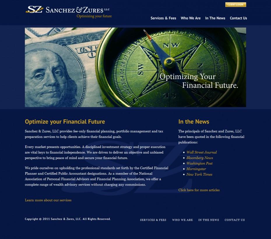 SZ Advisors Homepage