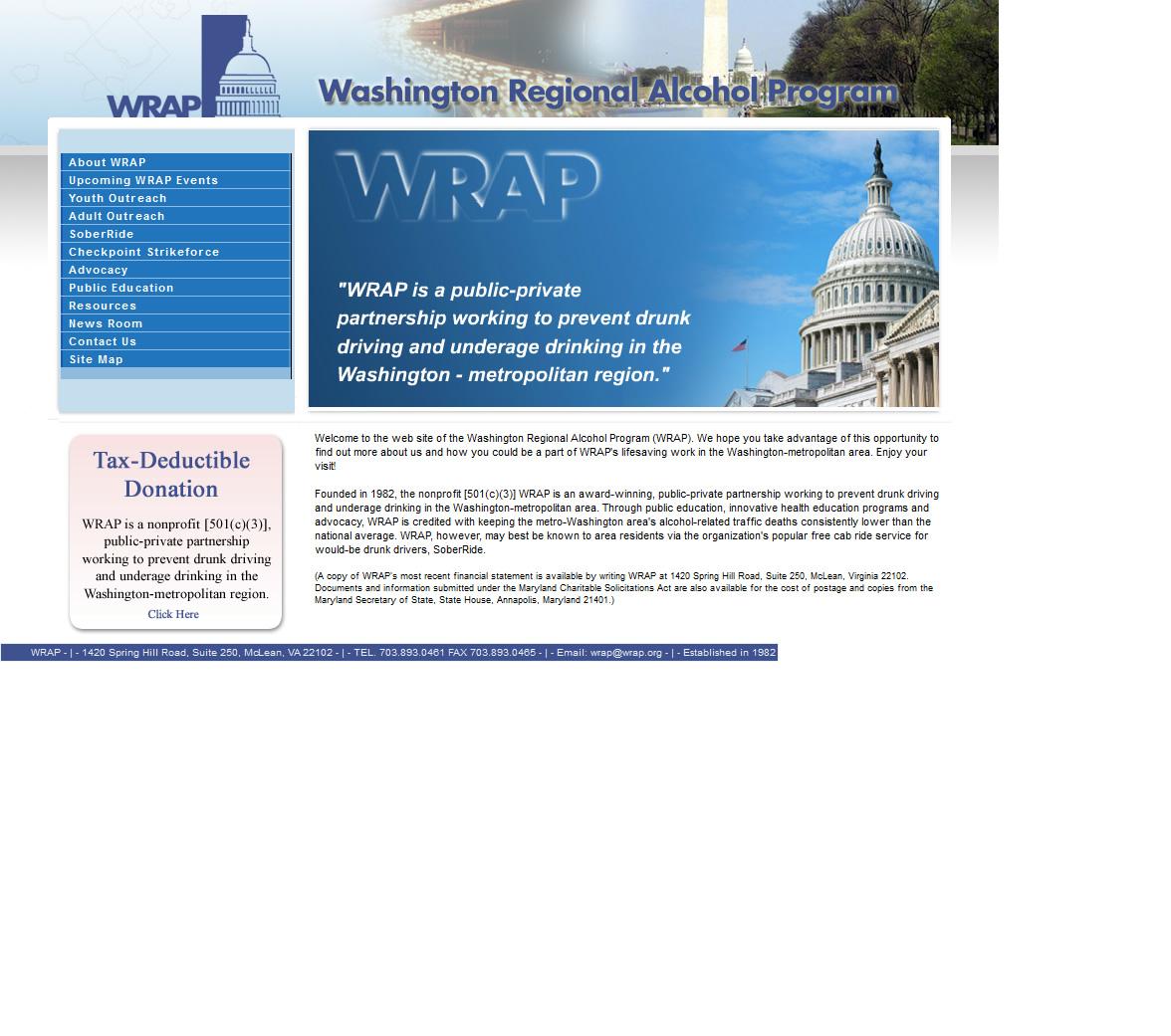 WRAP Homepage