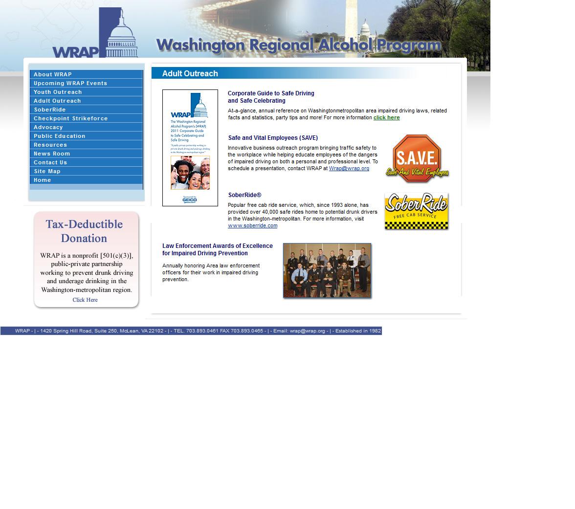 WRAP Interior Page