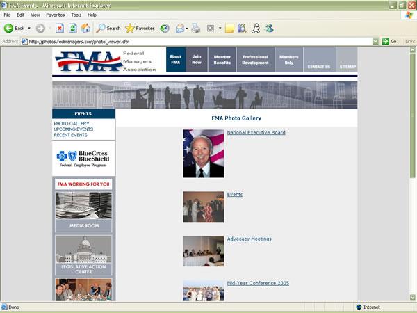 FMA interior page