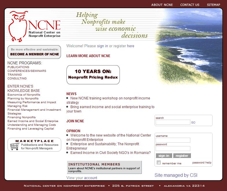 NCNE Homepage